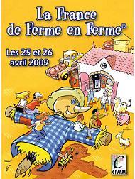 La France de Ferme en Ferme, pour redécouvrir l'agriculture