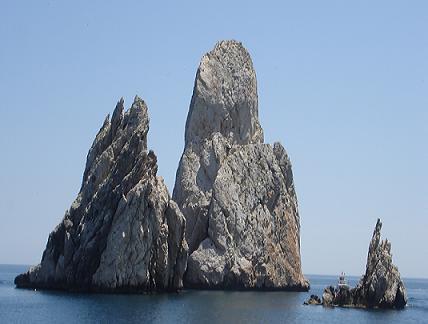 Les îles Medes sur la Costa Brava en Espagne, un site de grande biodiversité